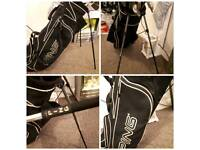 Ping i3 clubs and ping golf bag