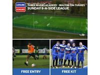 NEW 6 A SIDE FOOTBALL LEAGUE IN WALTON-ON-THAMES