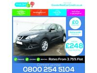 Nissan Qashqai 1.5 dCi Acenta (Smart Vision Pack) 5dr / finance available