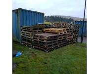 Free fire wood, pallets