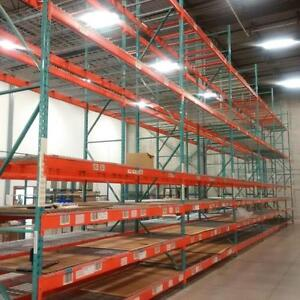 Warehouse and pallet racking relocations, trust the professionals to get your facility moved!