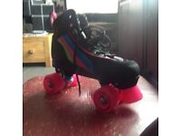 Rio Roller Roller Boots, worn once but didn't like so virtually new, girls size 6