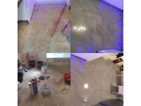 Hi we are experienced plasterers,tilers and plumbers who work to a high standard internal/external