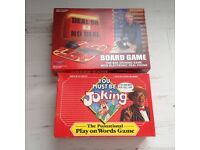 Board games Deal or no Deal and you must be joking