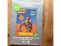Steve Irwin dvd and book set