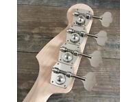Gotoh RES-O-LITE Series Jazz Bass Machine Heads Nickel Precision Bass
