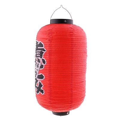 Waterproof Japanese Chochin Lantern Restaurant Sign Lampshade Decoration I