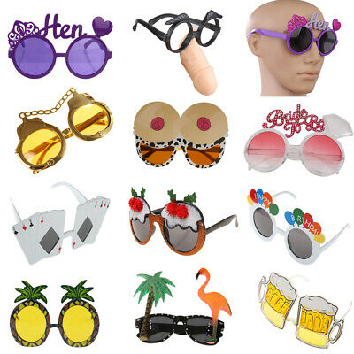 Novelty Party Glasses Sunglasses Costume Goggles Party Fancy Dress - Novelty Glasses