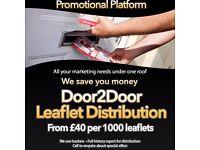 Leaflet Distribution: Croydon, Tooting, Wandsworth, Wimbledon, Clapham, Penge, Sydenham, Beckenham,