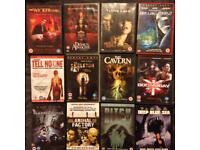 12 Thriller/ horror DVD bundle