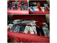 34 peice baby boy bundle 9-12 months