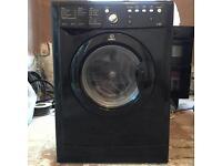 Indesit black washer dryer