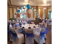Sale!party Chair cover hire 50p,with sash this week only!