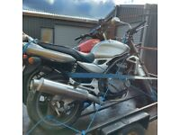 Motorcycle project WANTED dead or alive
