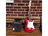 Electric Guitar and Amp Beginners Set