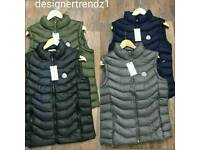 Unisex Slim Fit Moncler Body Warmer / Gillet ( All Sizes )