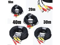 10M-60M BNC Lead Video Power HD Cable DC Security CCTV Camera