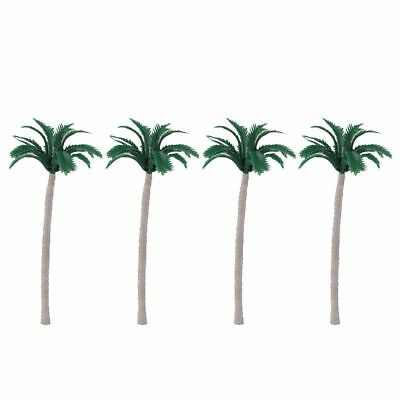 (Miniature Dollhouse Fairy Garden Set of 4 Palm Trees  - Buy 3 Save $5)