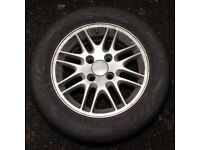 "Ford Focus 15"" Alloy Hub with tyre"
