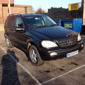 2004/54 Mercedes ml 350 auto one owner 7 seater