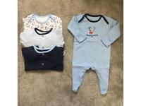 First size to 4 month baby clothes bundles