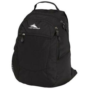High Sierra 53632-3054 Curve Backpack - Black (New Other)