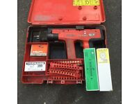 Hilti DX 450 Nail Gun (Repair) & Cartridges/Pins