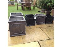 Garden patio planters cost £30 each selling for only £10 each tel 07966921804
