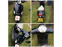 Piaggio VESPA LX 70cc reg 50cc (kitted)