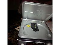 Clock radio with alarm & CD player