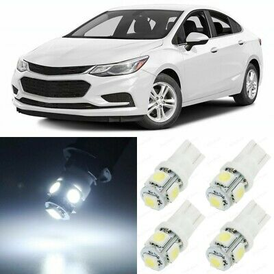 12 x White Interior LED Lights Package For 2010 - 2019 Chevy Chevrolet Cruze