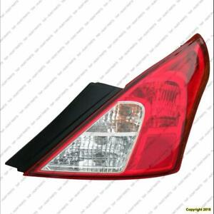 Tail Light Passenger Side Sedan Nissan VERSA SEDAN 2012-2014