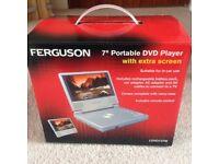 "7"" Portable DVD Player."
