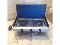 Camping Chef Two Burner Gas Stove and grill
