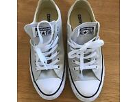 Genuine grey converse trainers 6