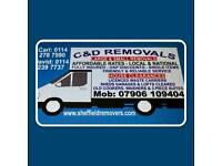 C&D Removals and House clearances sheffield