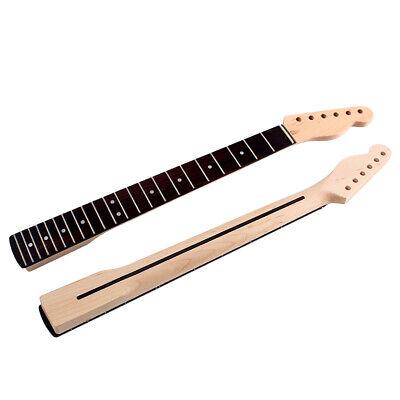 22 Frets Guitar Neck CA Maple Wood Rosewood Fingerboard for Tele TL Guitar