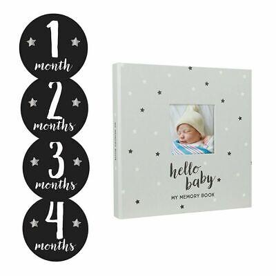 Pearhead - Star baby's memory book and sticker set Scrapbooking Newborn