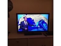 """Samsung 46"""" LCD TV excellent condition"""