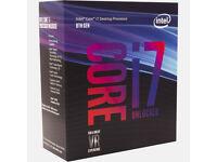 Intel i7 8700k CPU