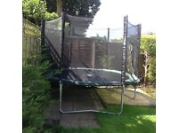 10 foot Trampoline. New safety net bought last year. Always put away for the winter good condition