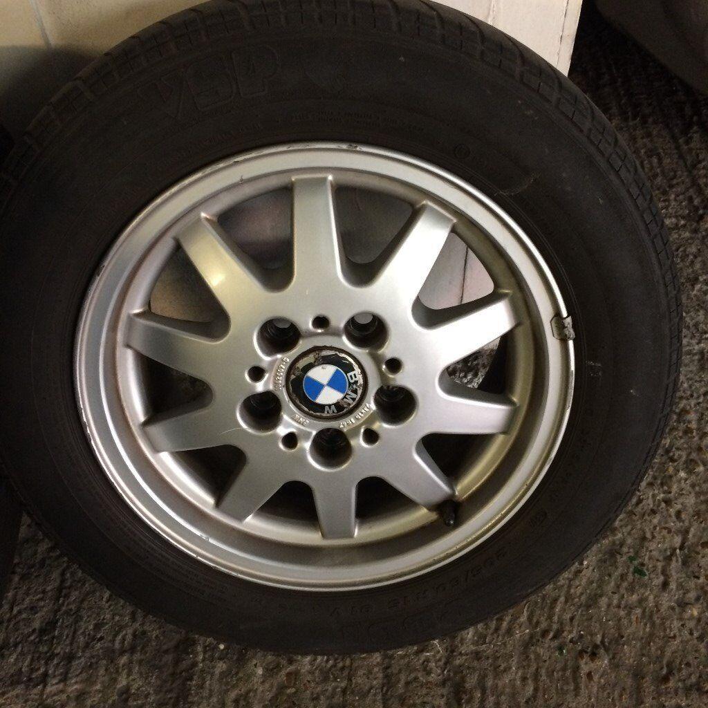 """BMW E36 15"""" ALLOY WHEELS EXCELLENT 316 318 31 320"""