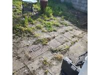 Looking to have patio re done in garden