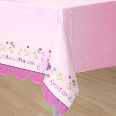 Disney Sofia The First PLASTIC TABLE COVER Plastic Tablecloth Party Supply 7-9C - Sofia The First Table Cloth