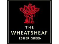 SOUS CHEF - THE WHEATSHEAF, ESHER, SURREY UP TO £28K/ANNUM