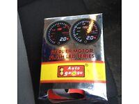 60mm Autogauge Digital Premium PEAK EVO Gauge OIL PRESSURE SMOKE LED 4