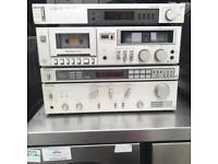 Vintage technics hifi separates