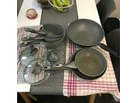 Salter Pans, Saucepans & Wok