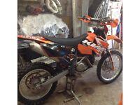 KTM 400 EXC 2006
