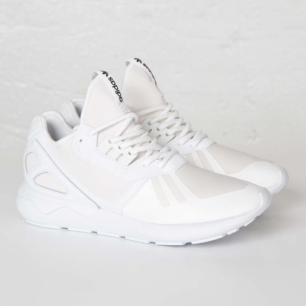 info for 5aa13 68816 Brand New Mens Adidas Originals Tubular Runners Size 12 Triple White | in  Bangor, County Down | Gumtree